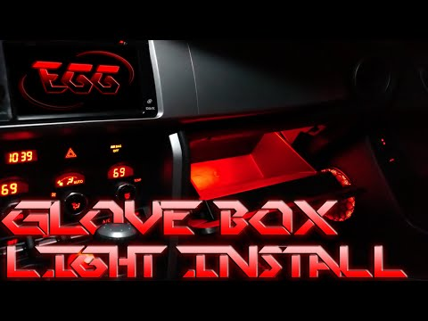 BRZ Glove Box Light Install (How-To) Video