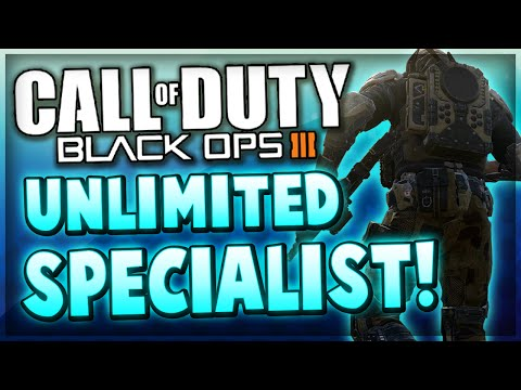 Black Ops 3 Glitches - UNLIMITED SPECIALIST TIME Glitch After Patch! (COD BO3 Glitch)