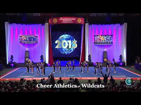 Cheer Athletics Wildcats Final Worlds 2015