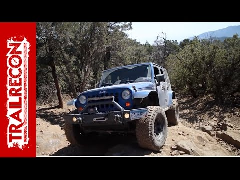 Gold Mountain in the Summer with the San Diego Jeep Club
