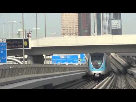 Dubai Monorail &  Metro Red Line Jebel Ali