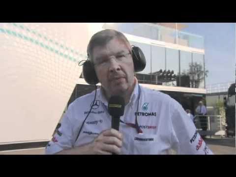 BBC F1 Forum Monza Brawn