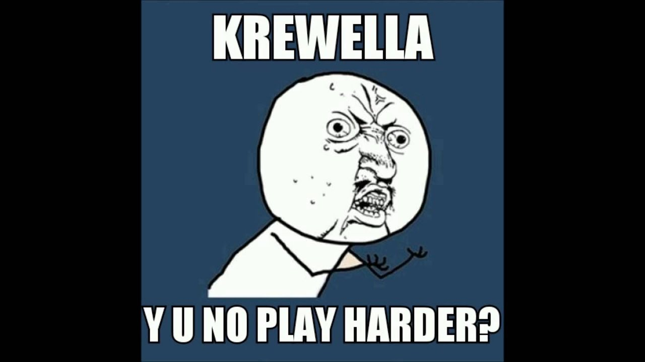 Krewella vs Whyel & KimKiat - Play Harder (Friday Love - Y U NO PLAY HARDER bootleg)
