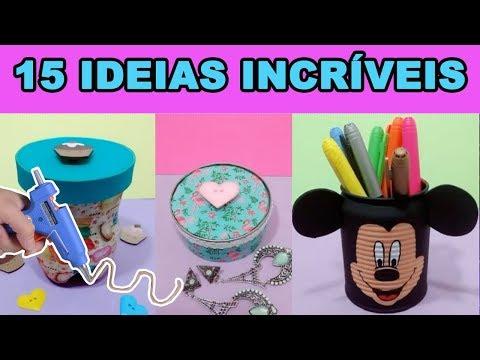 DIY -  15 IDEIAS FÁCEIS para você testar em casa - Compilação Vigo Vídeo