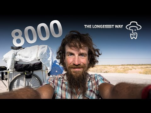 "The Longest Way ""8000km dance"" (in Turkmenistan) 4K"