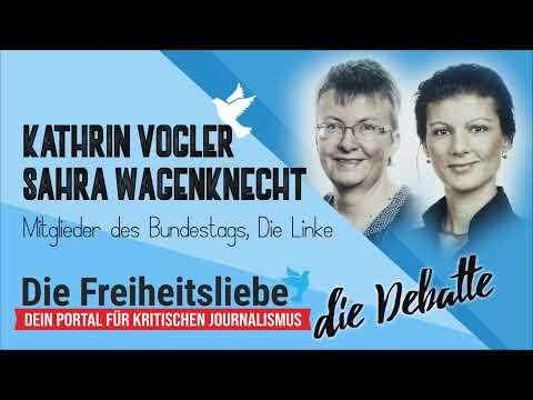 """Sahra Wagenknecht und Kathrin Vogler über """"Die Selbstgerechten"""" und was Links-Sein bedeutet"""