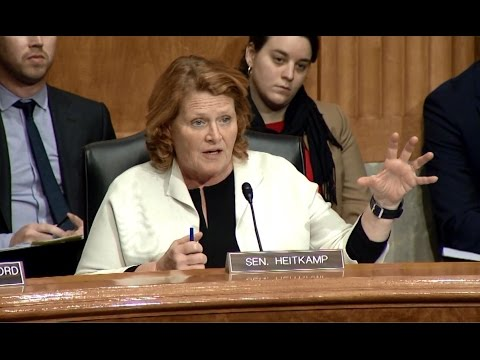 Heitkamp Emphasizes Need for Strong Renewable Fuels Standard at Senate Committee Hearing