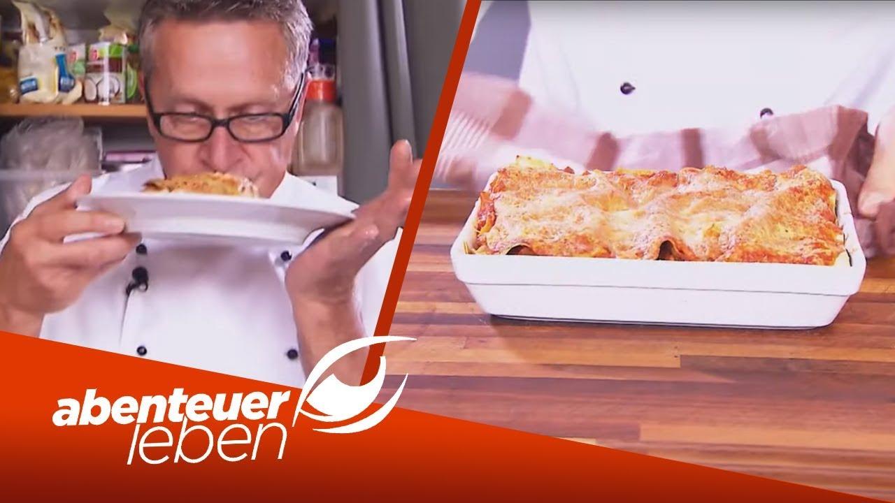 Lasagne mal anders Gyros Pommes Lasagne für zu Hause   Abenteuer Leben    kabel eins