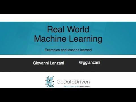 Masterclass Data Scientist Giovanni Lanzani at University of Amsterdam