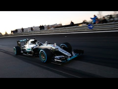 Fireworks, F1 Cars and Racing Stars – The Ultimate Mercedes-AMG Motorsport Party!