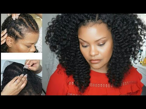EASY & QUICK CROCHET BRAIDS (ALOPECIA, FINE HAIR & THINNING HAIR) Weave Net