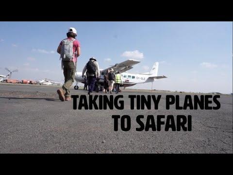 KENYA VLOG 5 - Flying in a Tiny Plane over Africa