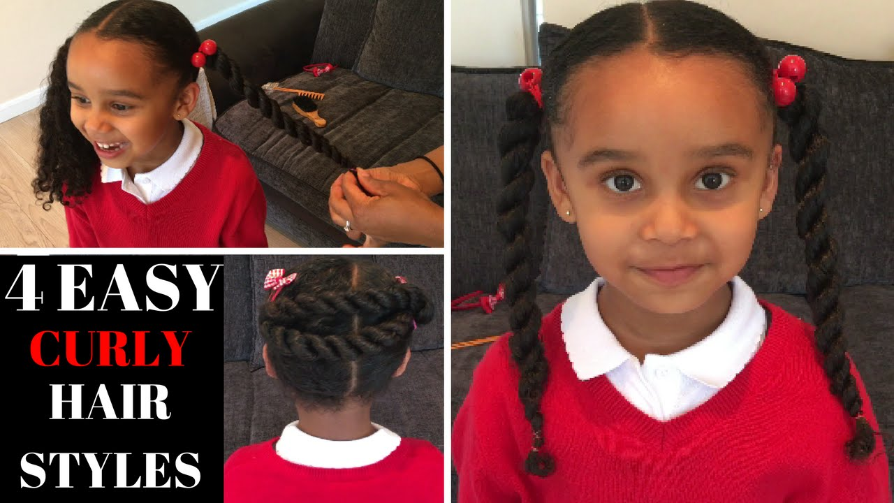 how to style curly hair for school 4 curly hair styles back to school hair styles hair 6193