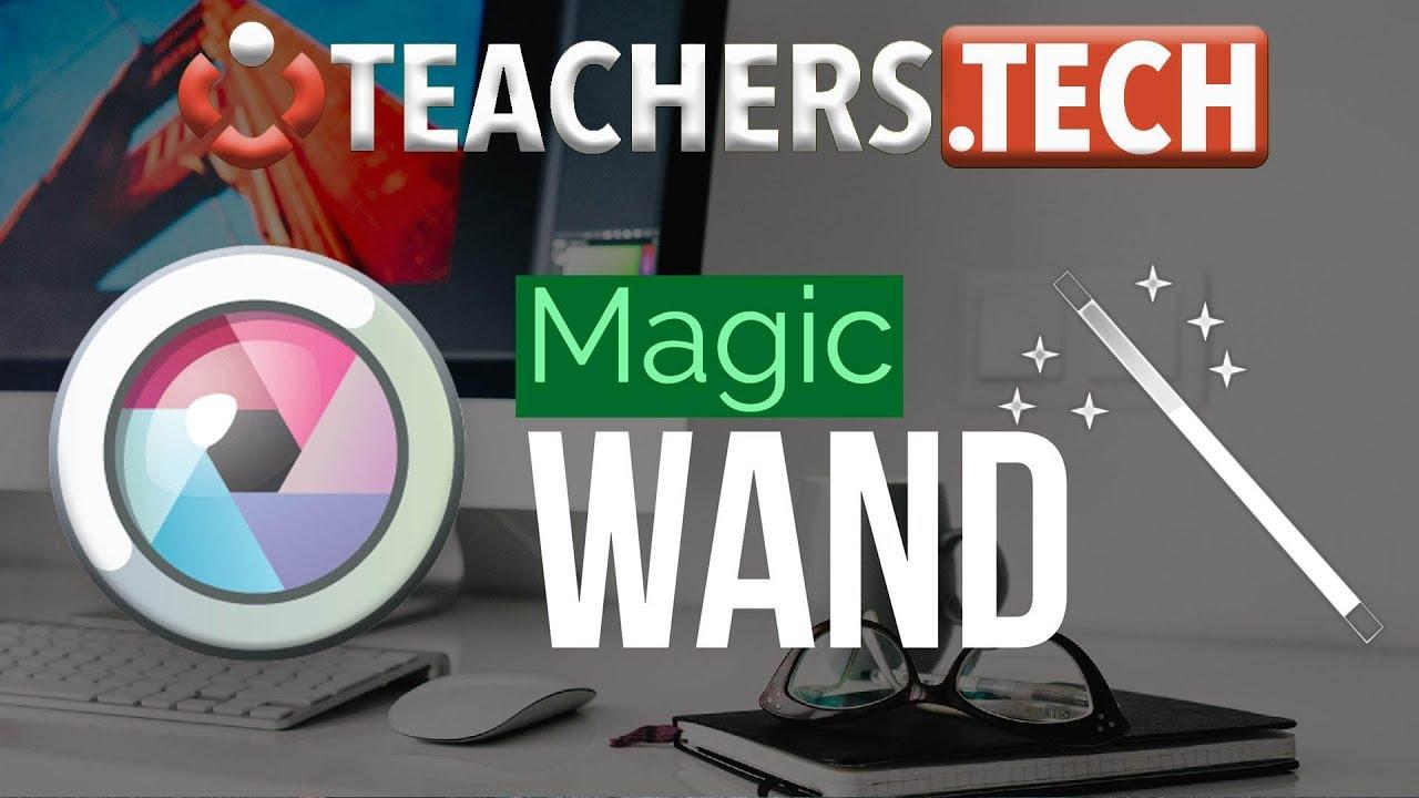 Removing Image Background - Pixlr Magic Wand
