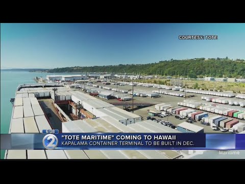 State proceeds with plans to expand cargo capacity at Honolulu Harbor