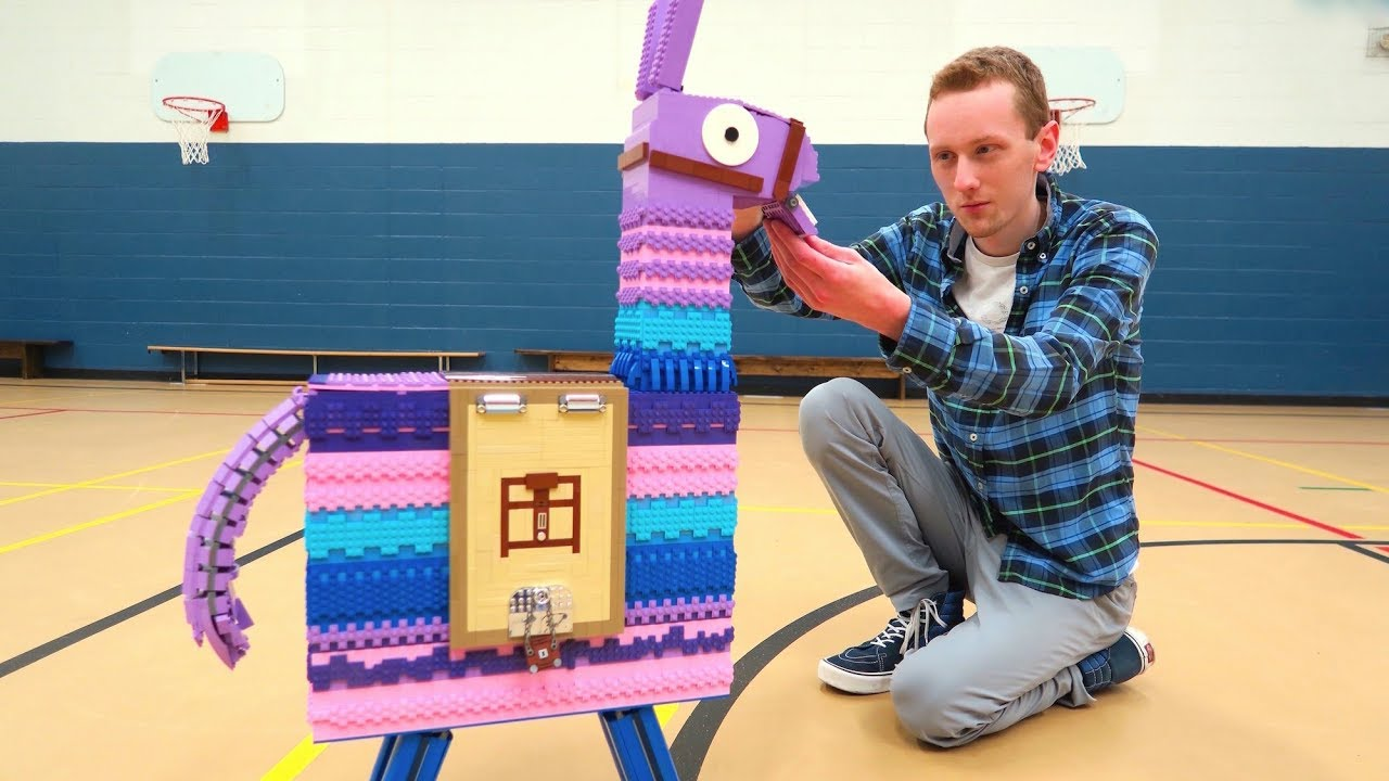 Lego Fortnite Llama Youtube