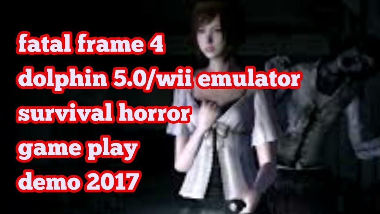 Fatal Frame 4 -Dolphin 5.0 Wii Emulator -survival horror gameplay ...