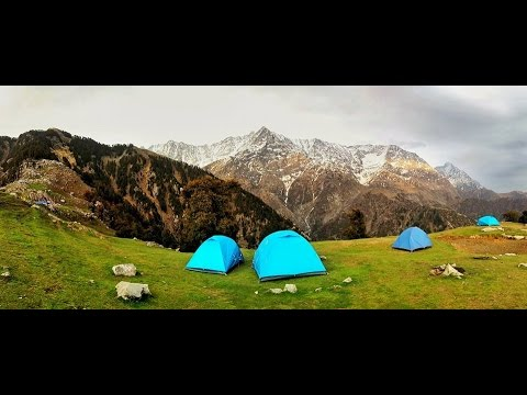 Triund Trek - A bliss in the Lap of Nature (McLeodganj, Dharamshala) - Travel Video