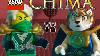 LEGO Lloyd vs Laval -