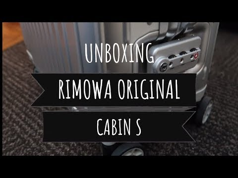 Unboxing Koper Mewah Rimowa Original Cabin S | WN VLOG PARIS