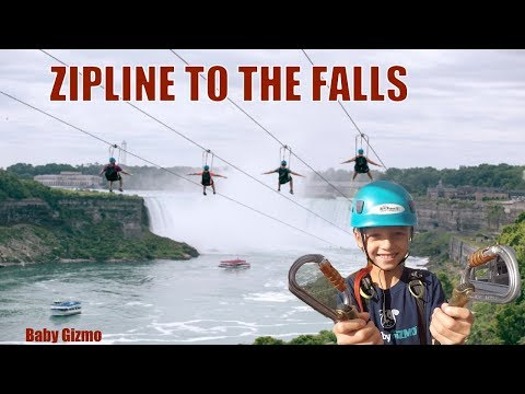 One Of The BEST Things To Do At NIAGARA FALLS!! Wildplay Mistrider Zipline
