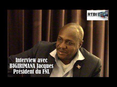 Avec BIGIRIMANA Jacques, Président du FNL