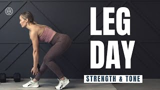 Extreme Lean Legs Bootcamp // Strength & Toning