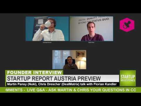 Live Discussion: Wie wähle ich den richtigen Investor? Mit Florian Kandler und Martin Pansy