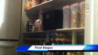 Canned Goods Storage With Pantry Shelves - Diy
