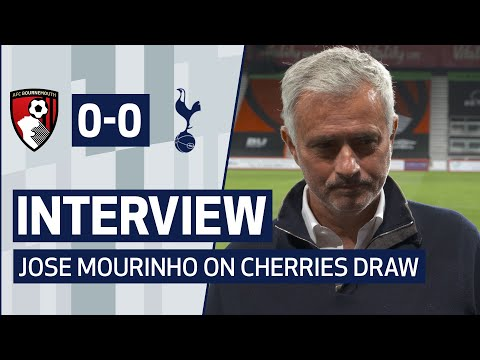 INTERVIEW | JOSE MOURINHO ON BOURNEMOUTH DRAW