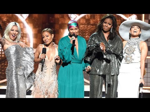 Lady Gaga, Michelle Obama, Jennifer Lopez and Jada Pinkett Smith on Their Empowering GRAMMY Moment Mp3