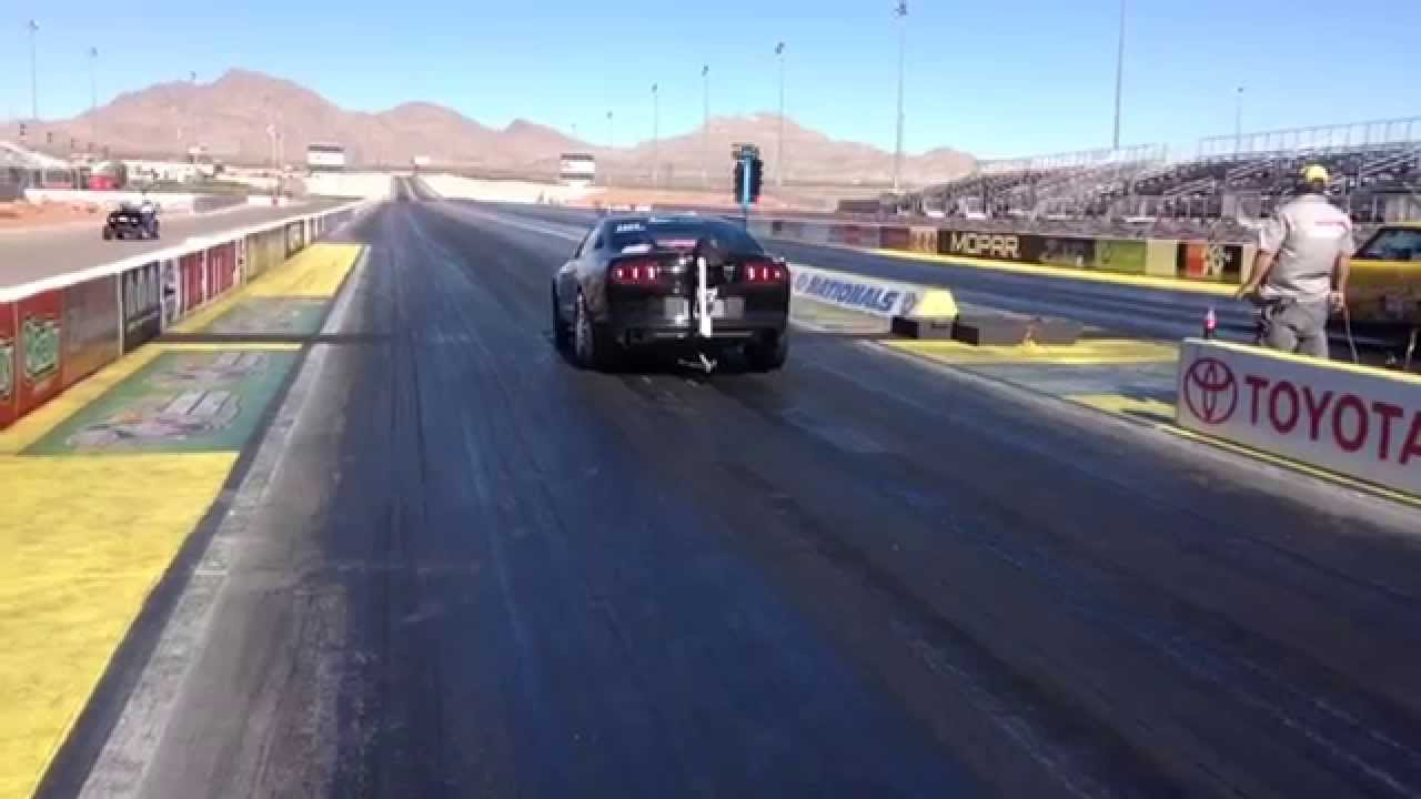Chuck watson drag racing las vegas motor speedway run 2 for Las vegas motor speedway drag strip