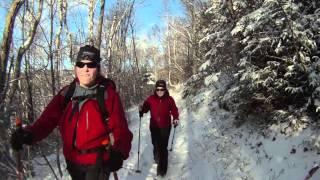 Sentier Carleton québec Gaspésie