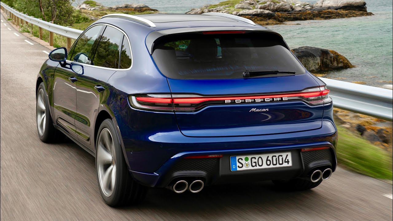 Download New PORSCHE Macan 2022 Facelift - DRIVING, exterior & interior