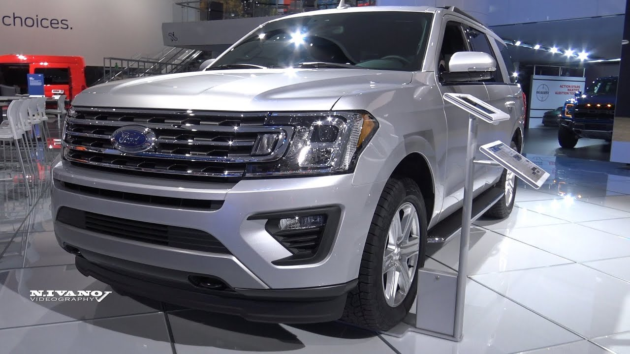 Ford Expedition Xlt Exterior And Interior Walkaround  Detroit Auto Show