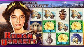 Roman Dynasty MEGA BONUS!!! WMS Slot Play Facebook Jackpot Party Casino