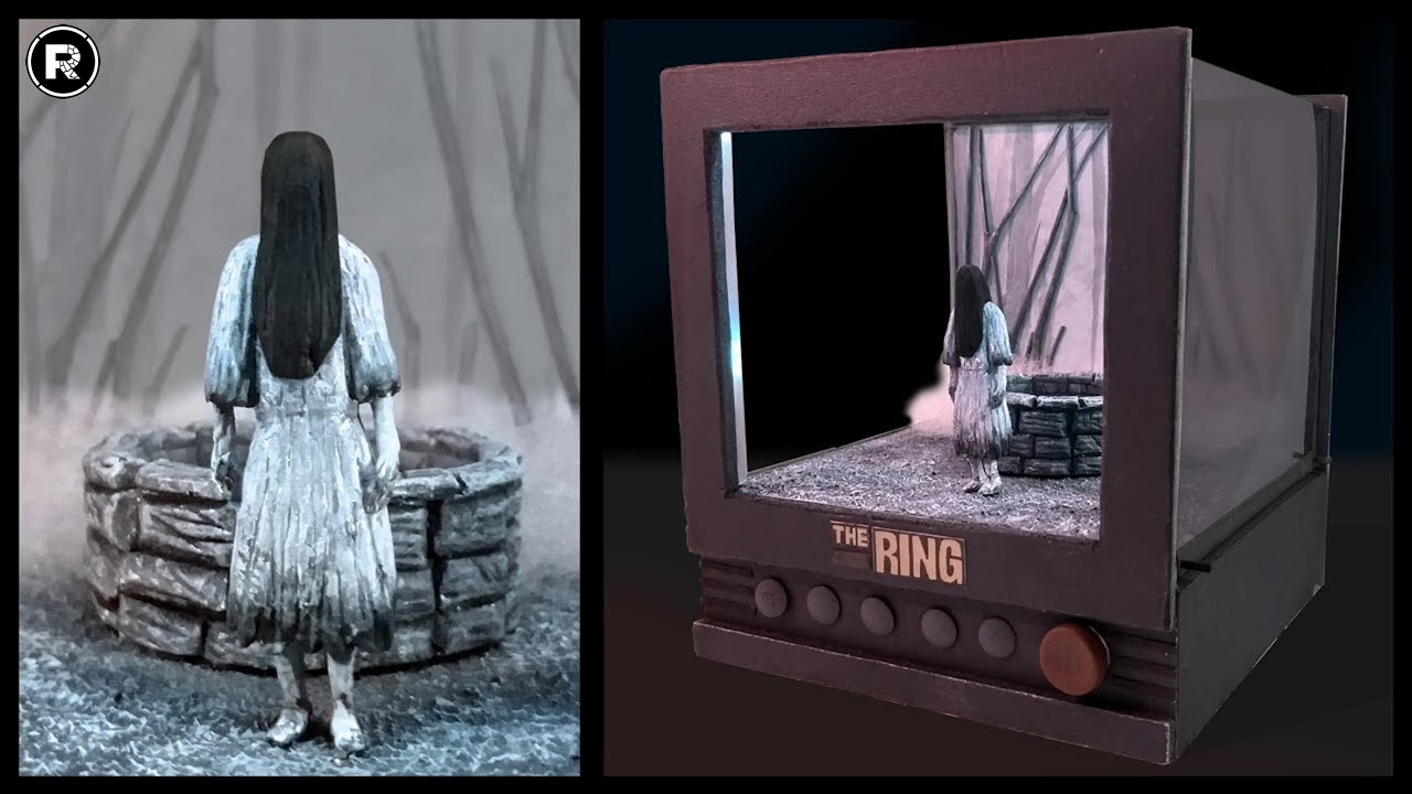 The RING / Diorama from scratch / 100% handmade
