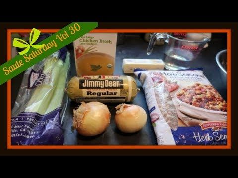 Easy Sausage Stuffing | Already prepping for the holidays