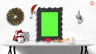 Amazing Interactive Merry Christmas & Happy New Year 2019 Green Screen Sound Includes