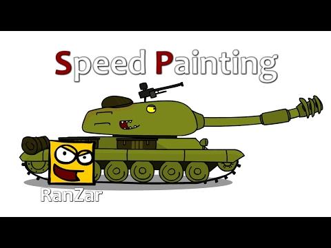 Speed Paint СТ-1. RanZar. Рандомные Зарисовки.