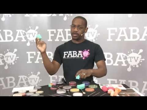 Corey Morgan Tips Tricks Face Painting Sponges