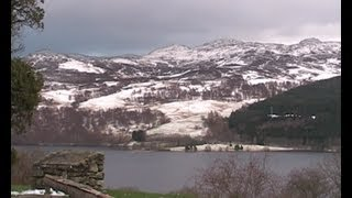 Loch Tummel Near Pitlochry, Scotland