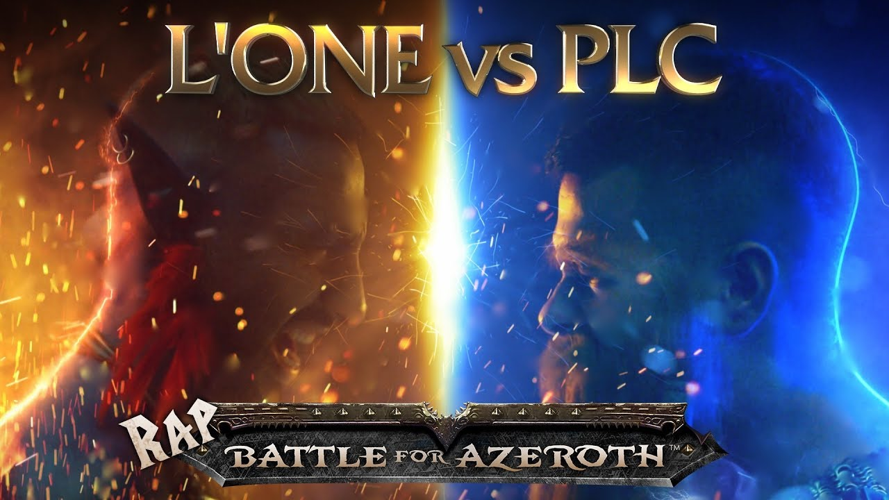 L'ONE VS. PLC — RAP BATTLE FOR AZEROTH
