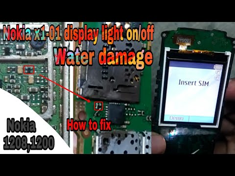 Nokia x1-01 Dead Solution | Nokia x1-01 water damage dead solution by Mobile Doctor