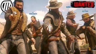 Red Dead Online: POSSE HUNTING! - Free-Roam Gameplay