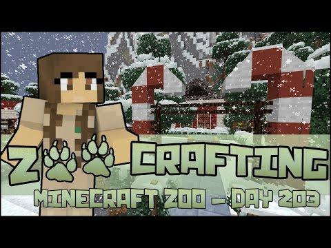 A Visit to Santa's Grotto!! 🐘 Zoo Crafting: Season 2 - Episode #203