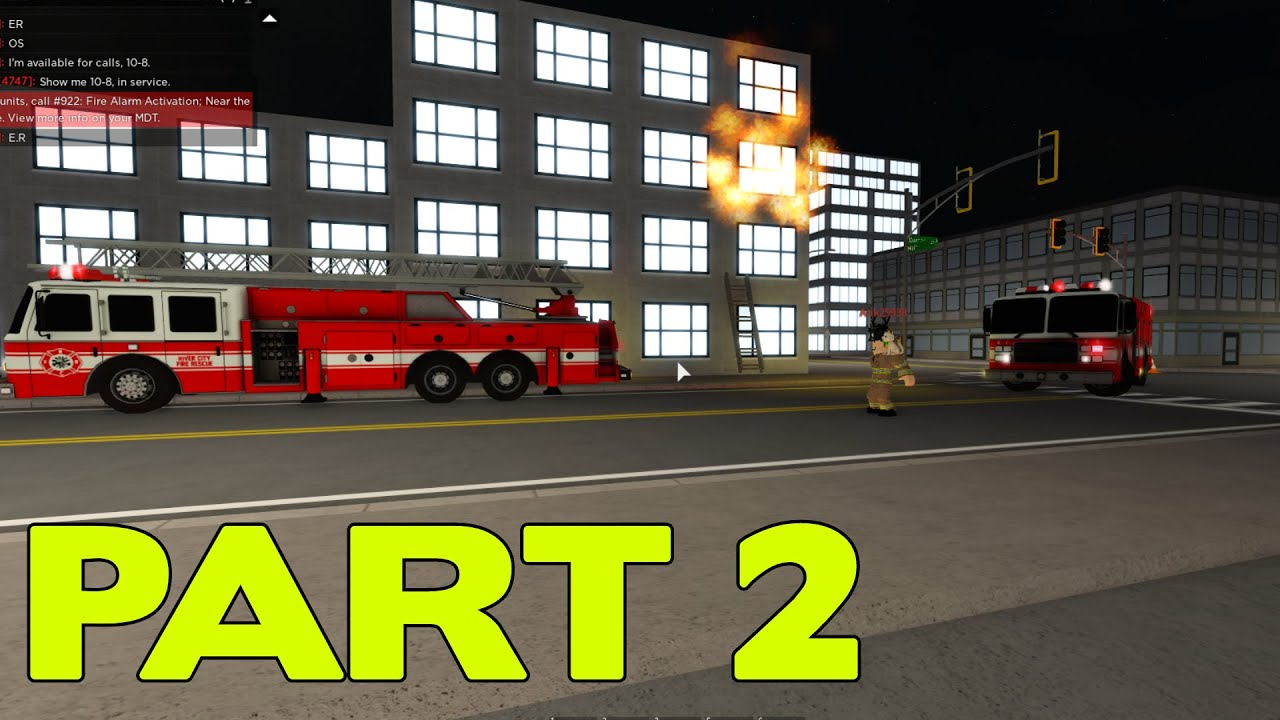 ROBLOX Liberty County Fire Department Part 2 | Lot's of Calls! |