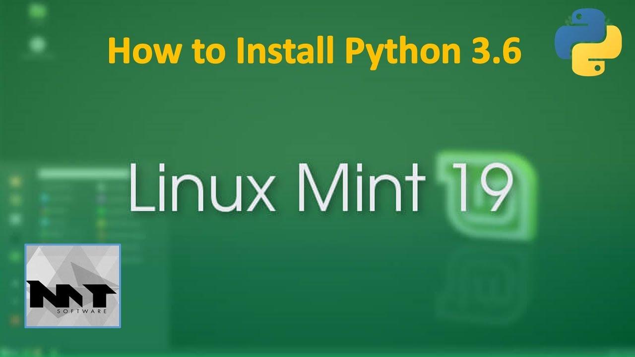 installer python 3.6 sous linux