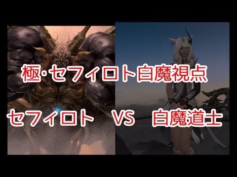 FF14 【白魔視点】極・魔人セフィロト討滅戦 解説動画【BGMOnly】