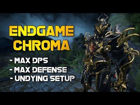 Warframe: ENDGAME CHROMA | THE UNDYING DPS DRAGON SETUP